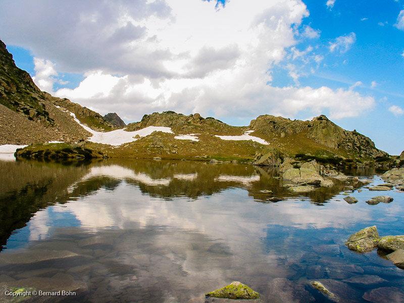 lac montée col de Bastan
